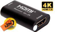 Repetidor de señal HDMI 4k hasta 40m