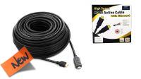 Cable amplificado tripe apantallamiento  HDMI 1.4 Premiun Gold 4k M/M negro (4096 x 2160)