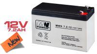 Batería plomo-ácido 12V 7.2A