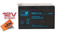 Bateria plomo-ácido 12V 9A