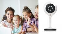 "Smart Camera WiFi 1/3"" CMOS 2MP 4mm F2.0 1080P HD controlo vocal Alexa"