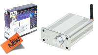 Receptor audio por Bluetooth/aptX con amplificador digital