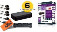 Controladora IR Invisible Control 6 XTRA Smart para 6 dispositivos