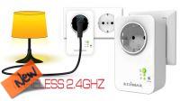 Interruptor inteligente para tomas Schuko con control wireless