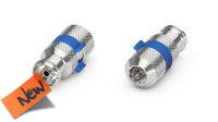 Conector Coaxial plug M Nikel (5u.)