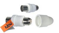 Conectores coaxiales RF de antena TV