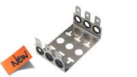 Estructura metálica para montaje 3 módulos de 10 pares