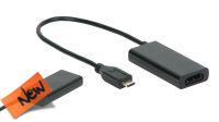 Cable adaptador Micro USB para HDMI Hembra 1080p MHL