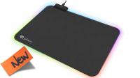 Alfombrilla Ratón Gaming Genesis BORON 500 RGB 35x25cm Negro