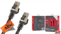 Cabo rede Cat. 7 S-FTP  Genesis  AWG 28 negro