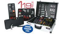 Maletín de herramientas 119 piezas en cromo vanadio