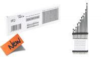 Kit de antenas de sustitución FM interior y exterior plateadas