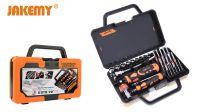 Kit de herramientas con trinquete inclinado y conjunto de 31 puntas