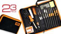 Kit de herramientas para reparación de teléfono móvil 23 piezas