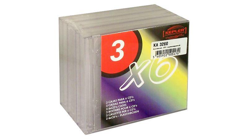 KA 3260 >> Capacidad de CD's: 6