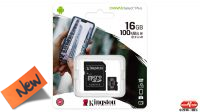 Kingston Micro SDHC Class 10 100mb/s c/adaptador