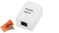 Caja Superficie Cat.6 UTP 1 x RJ45 - Blanco