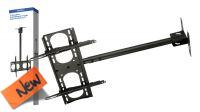 "Soporte techo brazo extensible para LCD 42-65"" 107-165cm 45Kg negro"