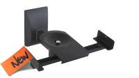 Soporte de pared para altavoces de 135~280mm 25Kg negro