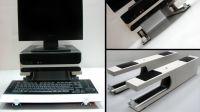 Soporte teclado y monitor