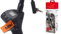 Cargador de mechero 2p USB 2.1A con soporte smartphone