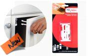 Cerradura para cajón de escritorio Pro+ Tech blanco (2)