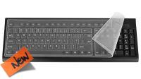 Funda teclado en silicona, a prueba de agua y polvo, teclados standard PC