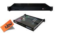 "Caja metálica servidor ATX rack 19"" 1U. negro"