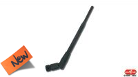 Antena de interior omnidireccional 5 dBi RPSMA 2.4GHz 20cm