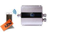 Repetidor de señal 300M2 GSM 3G 900Mhz plateado