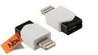 Adaptador USB A hembra a lightning de 8 pins Macho carga y datos