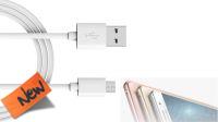 Cable de datos Samsung USB A Macho a micro USB Macho 1m