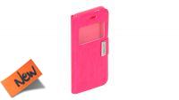 """Funda protectora frontal y trasera con bloqueo y ventana para iPhone 6 4.7"""" rosa"""