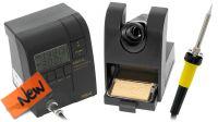 Estación de soldadura profesional 48W ajuste temperatura 200~400º com adaptador de enchufe