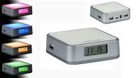 Hub USB 4 puertos V2.0 con luces de colores