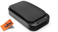 Esterilizador Desinfectante Ultravioleta Smartphone con carga inalámbrica Negro