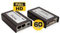 Amplificador DVI con audio Aten hasta 60 metros 1080p negro