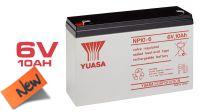Batería Yuasa NP10-6 plomo-ácido 6V 9.25Ah