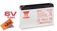 Bateria Yuasa NP7-6 plomo ácido 6V 7Ah